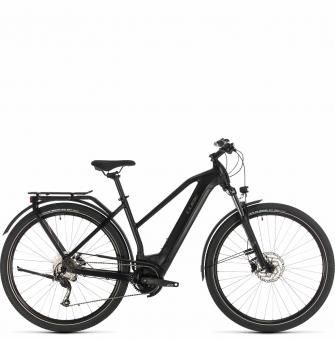 Электровелосипед Cube Kathmandu Hybrid ONE 625 Trapeze (2020) black´n´grey