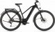 Электровелосипед Cube Kathmandu Hybrid ONE 625 Trapeze (2020) black´n´grey 1