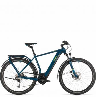 Электровелосипед Cube Kathmandu Hybrid ONE 625 (2020) blue´n´yellow