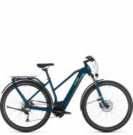 Электровелосипед Cube Kathmandu Hybrid ONE 625 Trapeze (2020) blue´n´yellow