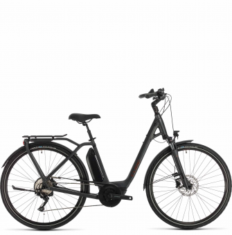 Электровелосипед Cube Town Sport Hybrid Pro 400 (2020) iridium´n´red