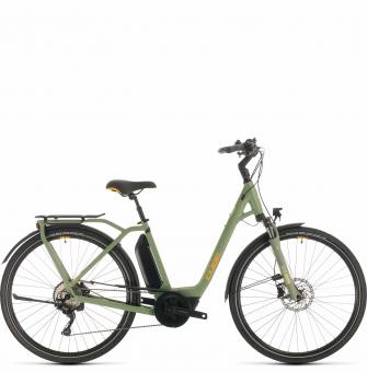 Электровелосипед Cube Town Sport Hybrid Pro 400 (2020) green´n´orange