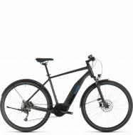 Электровелосипед Cube Nature Hybrid ONE 500 Allroad (2020) iridium´n´blue