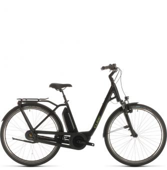 Электровелосипед Cube Town Hybrid Pro 400 (2020) black´n´green