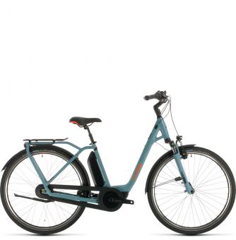 Электровелосипед Cube Town Hybrid Pro 400 (2020) blue´n´orange