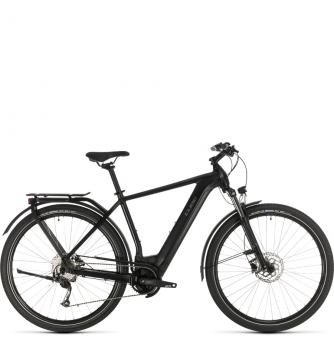 Электровелосипед Cube Kathmandu Hybrid ONE 500 (2020) black´n´grey