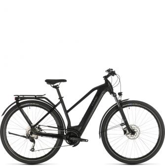 Электровелосипед Cube Kathmandu Hybrid ONE 500 Trapeze (2020) black´n´grey