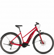 Электровелосипед Cube Nature Hybrid ONE 400 Allroad Trapeze (2020) red´n´red