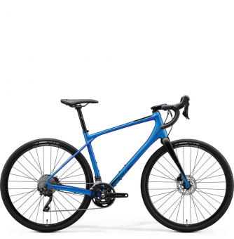 Велосипед гравел Merida Silex 400 (2020) MattMediumBlue