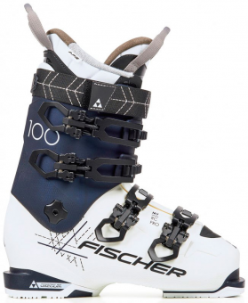 Ботинки горнолыжные Fischer MY RC PRO 100 PBV wht/blue(2020)