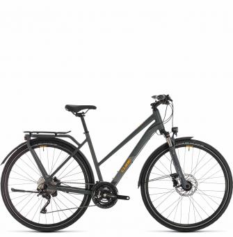 Велосипед Cube Kathmandu EXC Trapeze (2020) grey´n´orange