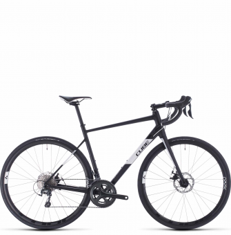 Велосипед Cube Attain Race (2020) black´n´white