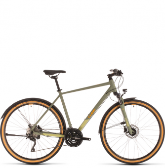 Велосипед Cube Nature EXC Allroad (2020) green´n´orange