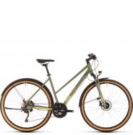 Велосипед Cube Nature EXC Allroad Trapeze (2020) green´n´orange