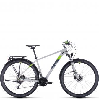 Велосипед Cube Aim SL Allroad (2020) lightgrey´n´green