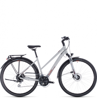 Велосипед Cube Touring Pro Trapeze (2020) grey´n´orange