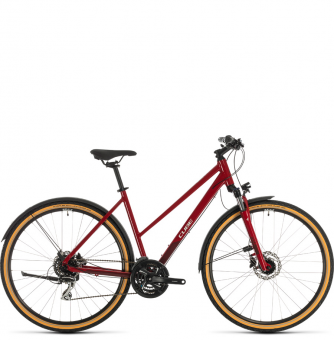 Велосипед Cube Nature Allroad Trapeze (2020) red´n´grey