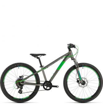 Подростковый велосипед Cube Acid 240 Disc (2020) grey´n´neongreen