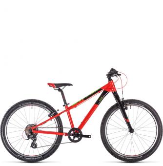 Подростковый велосипед Cube Acid 240 SL (2020) red´n´green´n´black