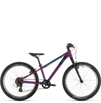 Подростковый велосипед Cube Acid 240 SL (2020) purple´n´blue