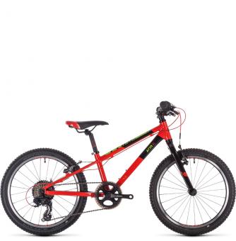 Детский велосипед Cube Acid 200 SL (2020) red´n´green´n´black