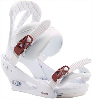 Крепления для сноуборда Burton STILETTO White (2020)