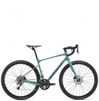 Велосипед гравел Giant Revolt 1 (2020) Gloss Teal Grey
