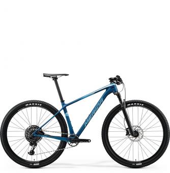 Велосипед Merida Big.Nine 6000 (2020) MattOceanBlue/GlossySilver-Blue