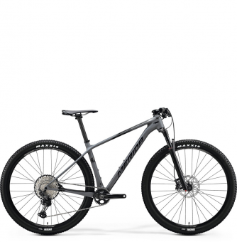 Велосипед Merida Big.Nine XT (2020) MattDarkGrey/GlossyDarkSilver