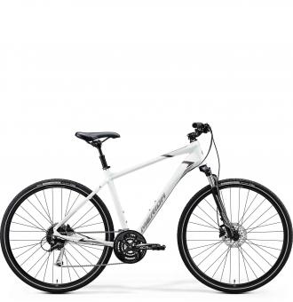 Велосипед Merida Crossway 100 (2020) MattWhite/Grey