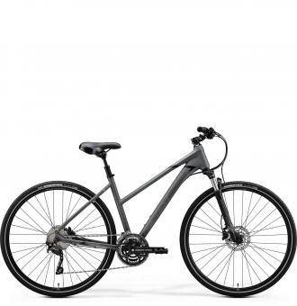 Велосипед Merida Crossway 300 Lady (2020) MattDarkGrey/Black