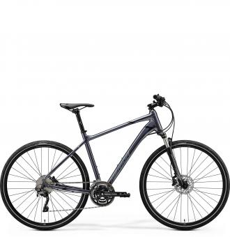 Велосипед Merida Crossway 500 (2020) GlossyAnthracite/Black/Silver