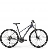 Велосипед Merida Crossway 500 Lady (2020) GlossyAnthracite/Black/Silver