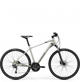 Велосипед Merida Crossway 600 (2020) MattTitan/GlossyBlack/Grey