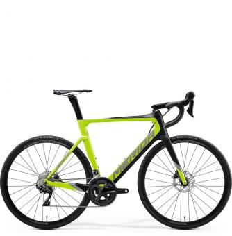 Велосипед Merida Reacto Disc 4000 (2020) Matt Black/Glossy Green