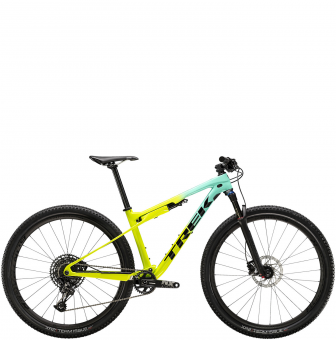 Велосипед Trek Supercaliber 9.7 (2020) Miami Green to Volt Fade