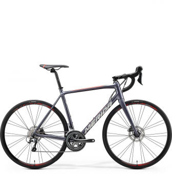 Велосипед Merida Scultura Disc 300 (2020) SilkAnthracite/RaceRed