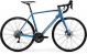 Велосипед Merida Scultura Disc 400 (2020) SilkLightBlue/Silver-Blue 1
