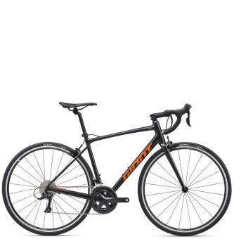 Велосипед Giant Contend 1 (2020) Gunmetal Black / Metallic Orange