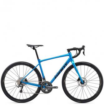Велосипед Giant Contend AR 2 (2020) Metallic Blue / Black
