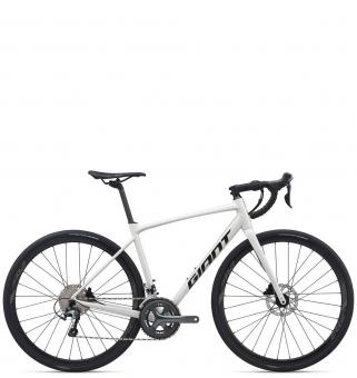 Велосипед Giant Contend AR 2 (2020) White / Metallic Black