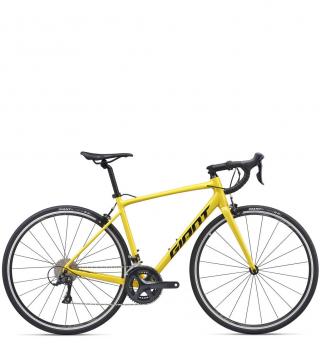 Велосипед Giant Contend 1 (2020) Yellow / Metallic Black