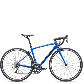 Велосипед Giant Contend 2 (2020) Gloss Electric Blue/Black