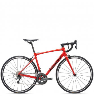 Велосипед Giant Contend SL 2 (2020) Pure Red/Black