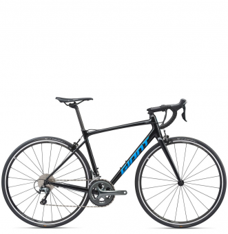 Велосипед Giant Contend SL 2 (2020) Metallic Black / Vibrant Blue