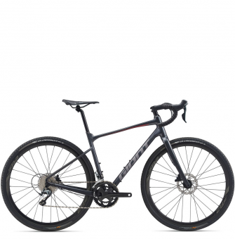 Велосипед гравел Giant Revolt 1 (2020) Gunmetal Black