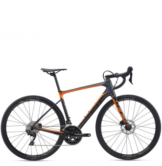 Велосипед Giant Defy Advanced 2 (2020) Gunmetal Black
