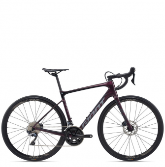 Велосипед Giant Defy Advanced 1 (2020) Wine Purple, Charcoal