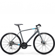 Велосипед Merida Speeder 100 (2020) MattDarkGrey/Blue/Pink/Black