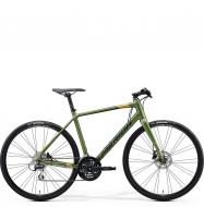 Велосипед Merida Speeder 100 (2020) MattFogGreen/DarkGreen/Gold